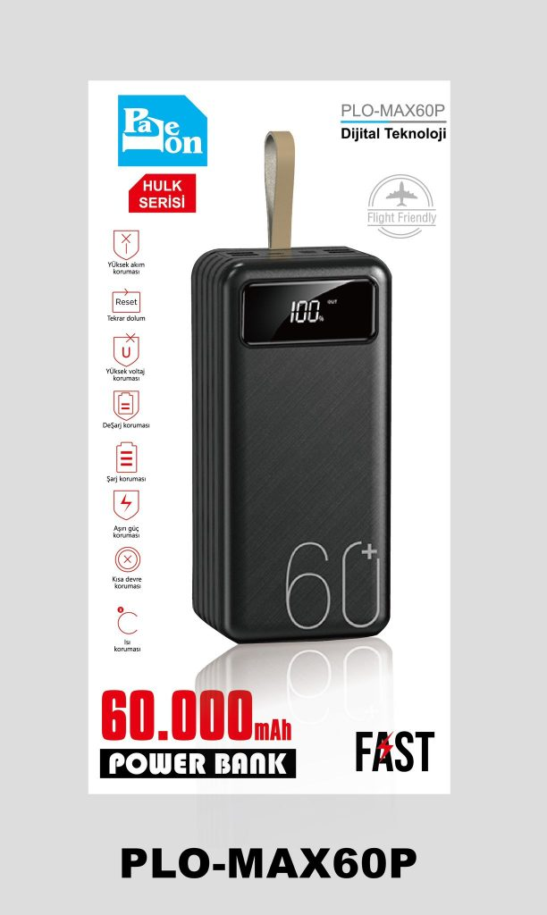 PaLeOn 60.000mah PLO-MAX60P POWERBANK